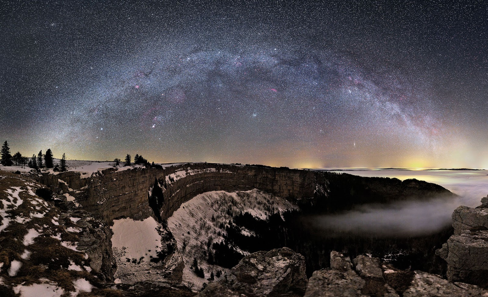Milky Way Galaxy - Switzerland