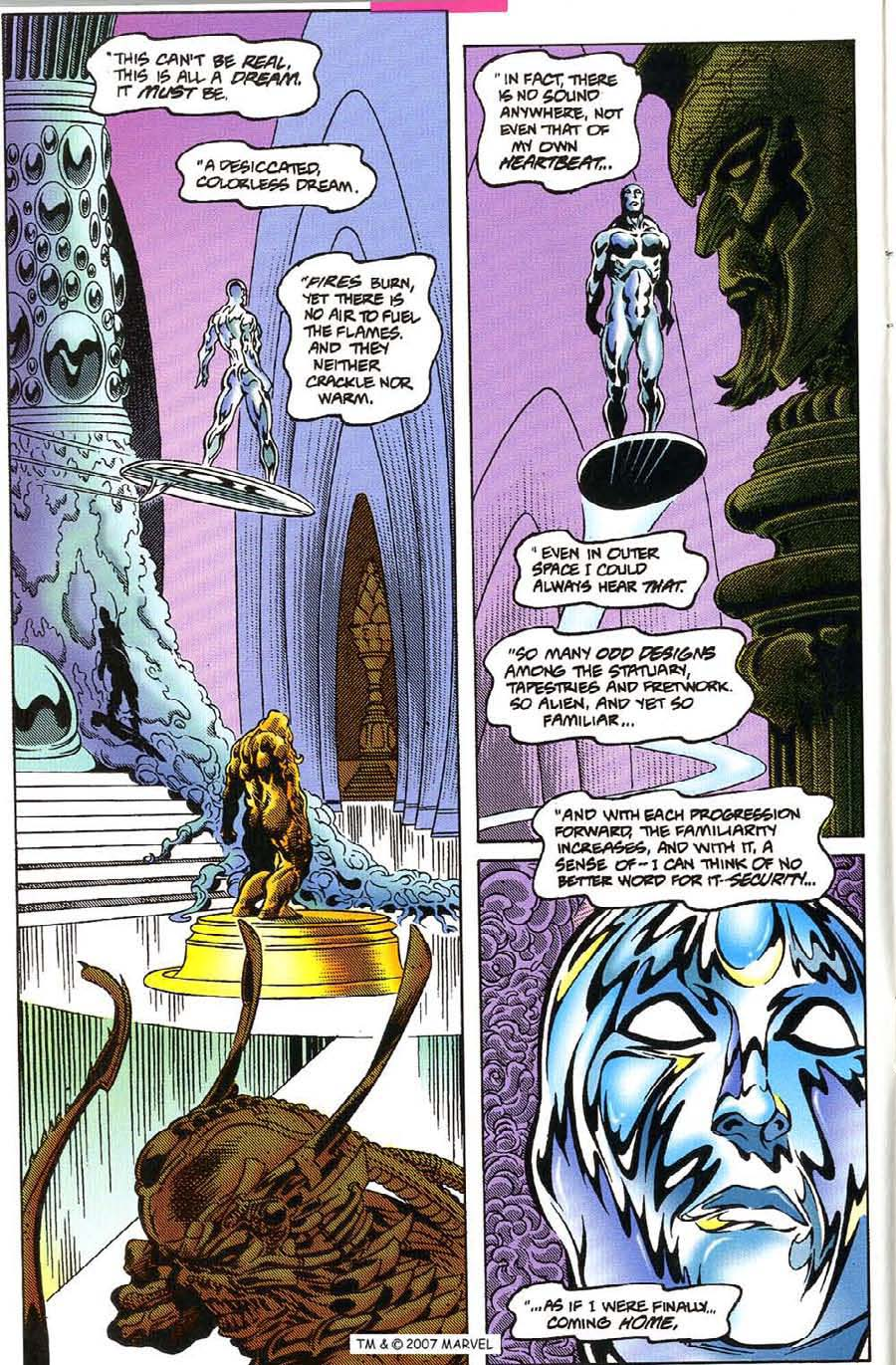 Read online Silver Surfer (1987) comic -  Issue #115 - 4