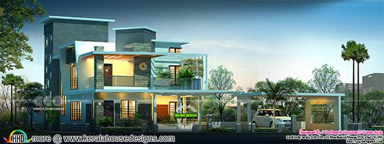Contemporary style 4 bedroom 3500 sq-ft contemporary home