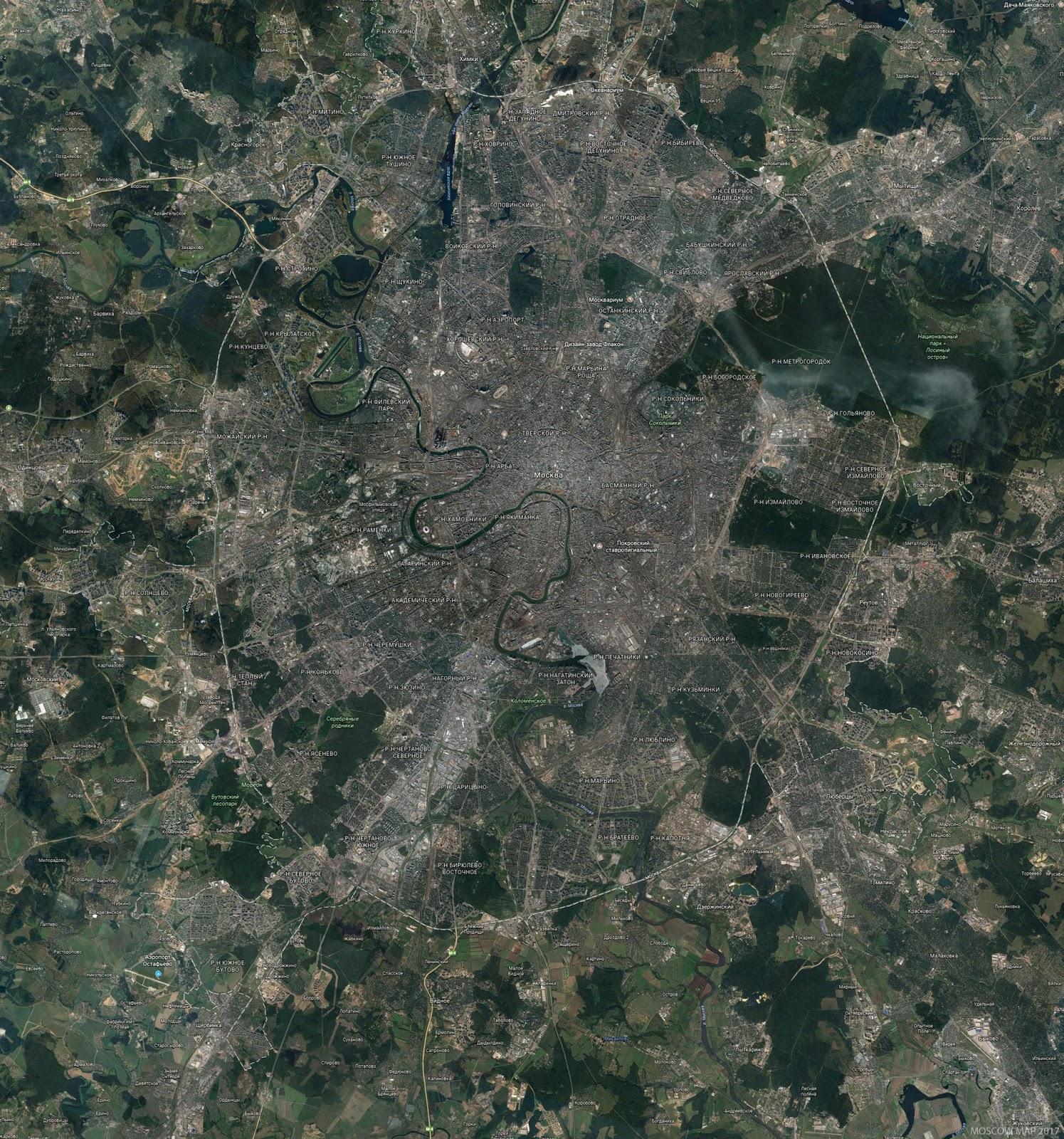 Карты спутник картинки