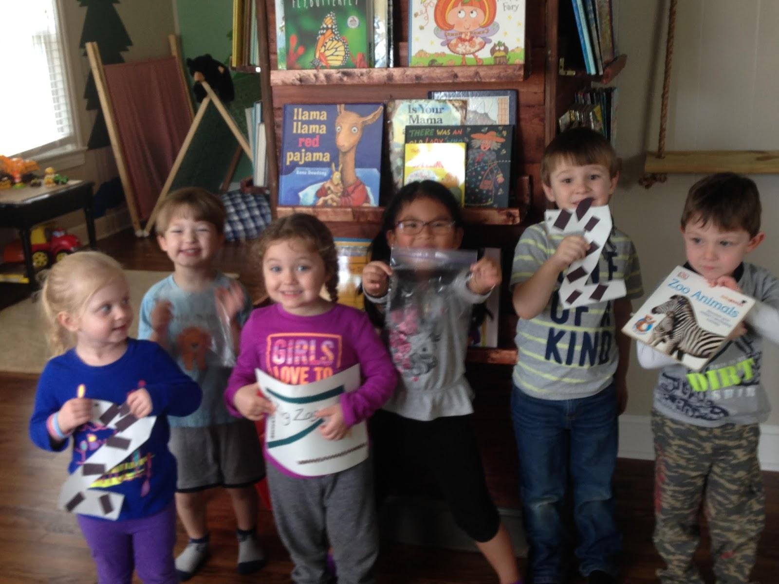 Dyersburg Preschool Show & Tell Yesterday At This Dyersburg Preschool