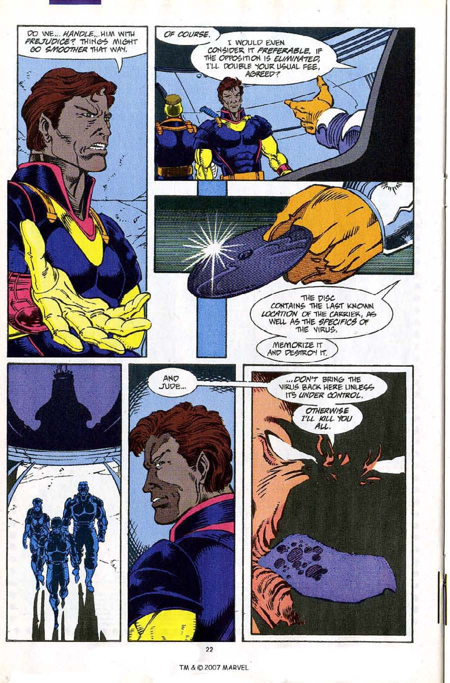 Read online Silver Surfer (1987) comic -  Issue #61 - 24