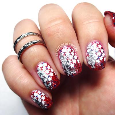 Star Spangled Nail Art