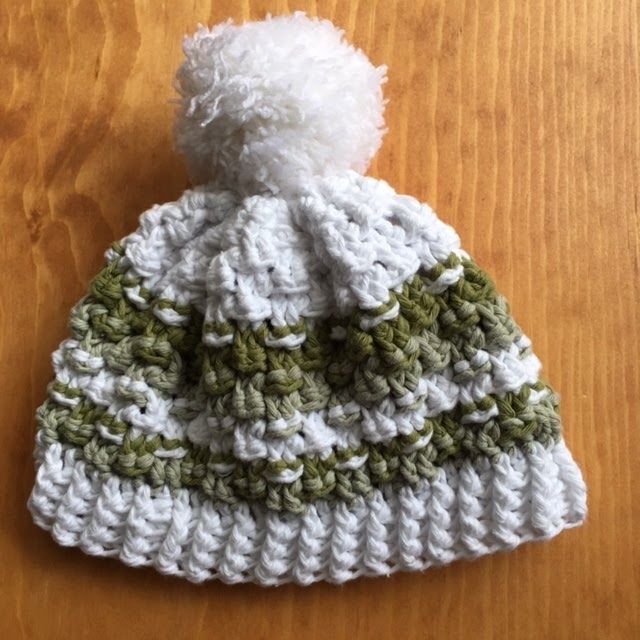 9fcb2a52ae6 Basket Weave Hat (Crocheted in the round)