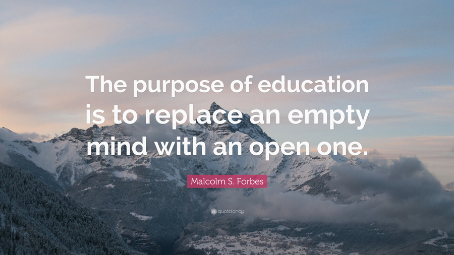 purpose education What is the purpose of education the question came into stark relief when wisconsin gov scott walker recently tried to quietly change the century-old mission of the university of wisconsin system.