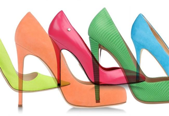 Scarpe Tacchi Colorate