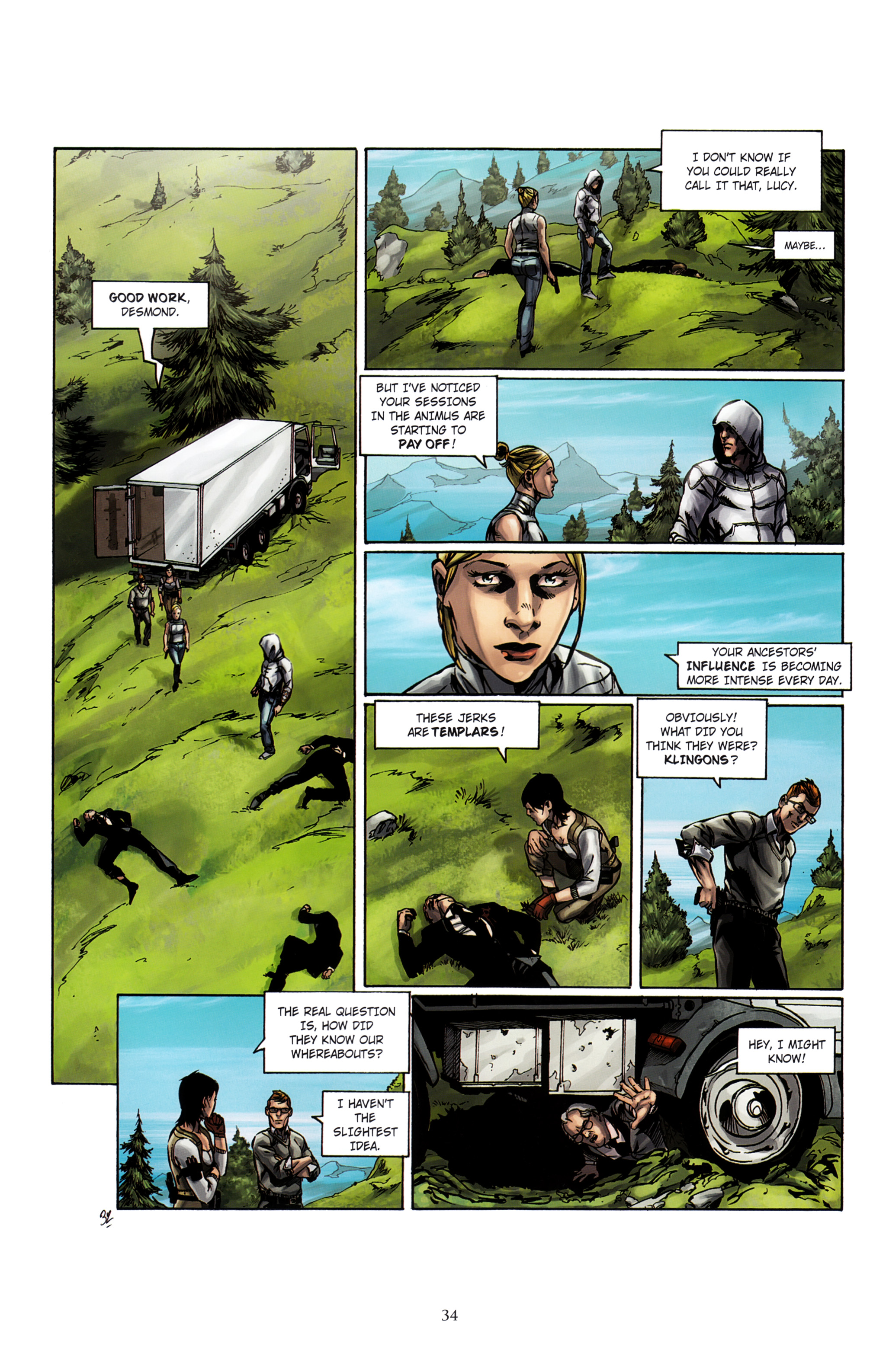 Read online Assassin's Creed (2012) comic -  Issue #2 - 38