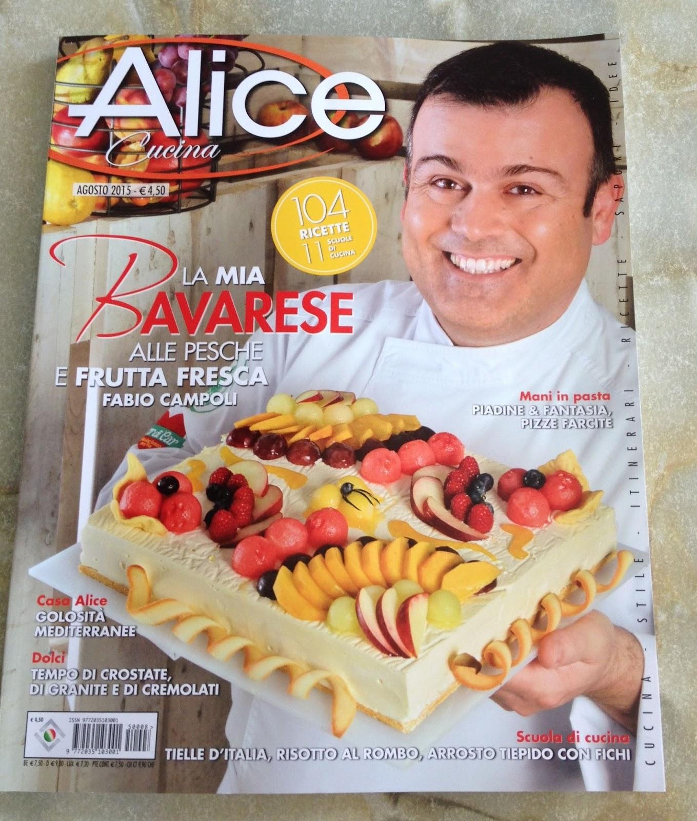 Batuffolando ricette numero di agosto del mensile alice for Alice cucina ricette