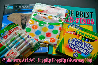 Children's Art Set {Hippity Hoppity Giveaway Hop}