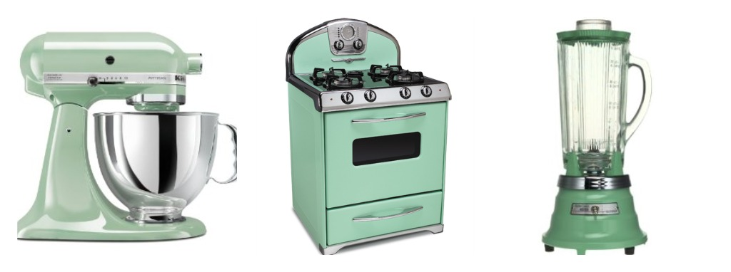 Sweet On You My Imaginary Kitchen Has Green Appliances