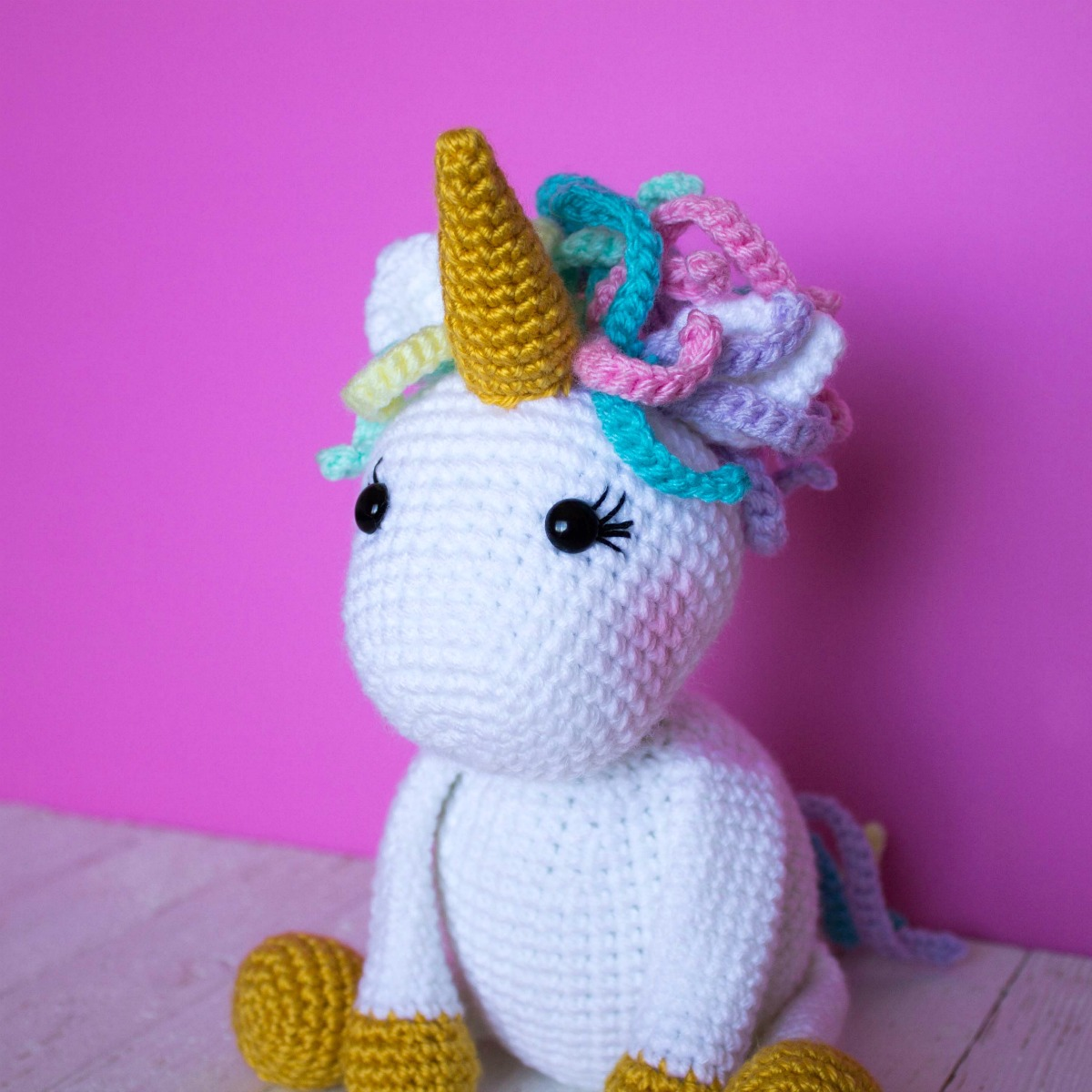 Jazzy the Unicorn | Recipe | Crochet unicorn pattern, Crochet unicorn, Crochet  patterns amigurumi | 1200x1200