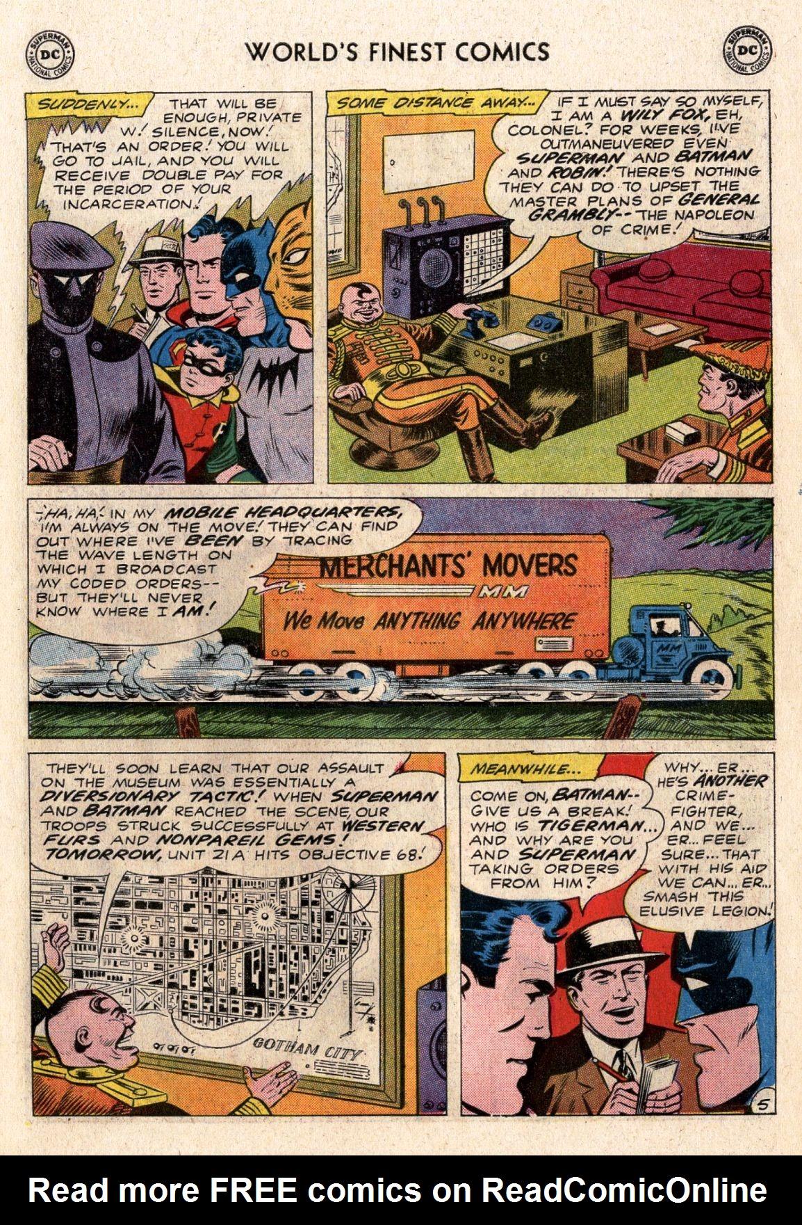 Read online World's Finest Comics comic -  Issue #119 - 7