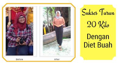 Andalkan Diet Buah, Wanita Ini Turun 20 Kg