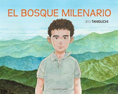 """En junio llega a España la obra póstuma de Jiro Taniguchi, """"El bosque milenario"""". @ponentmon_spain"""