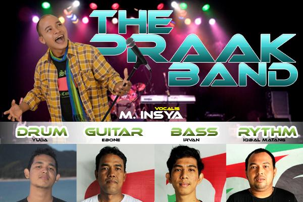 Yuk ke Blang Padang Hari Minggu, ada The Praak Band dan Joel Pasee
