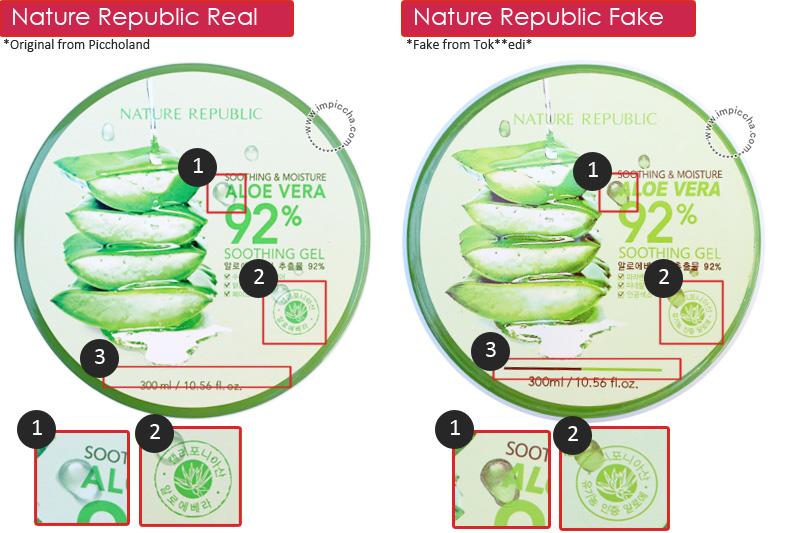 Perbedaan Nature Aloe Vera Gel Asli dan Palsu