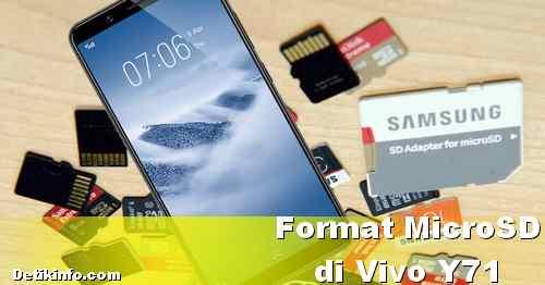 Cara Memformat Kartu Memori MicroSD di HP Vivo Y71