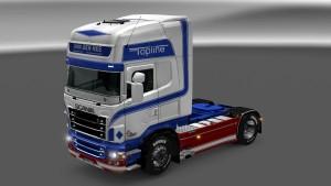 Scania RJL Van Der Ree skin mod by Guglyluca