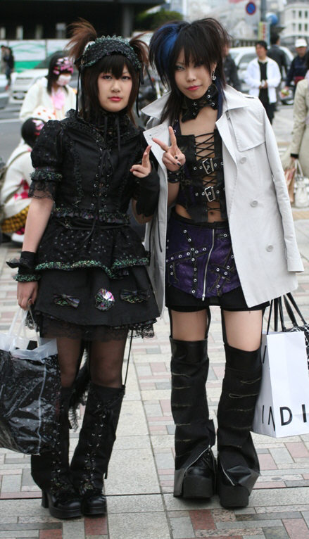 Inter Fashion Online Culture Of Quot Gothic Lolita Quot In Japanese