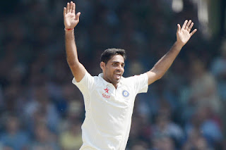Pace Bowler Bhuvneshwar Recalled for the Remaining Test Series