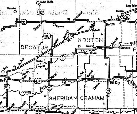 The Highway 83 Chronicles: A Ghost Road and Two Ghost Towns in ... on kansas hit, kansas black and white map, kansas historical marker map, kansas lakes map, kansas counties map, kansas map with all cities, salina kansas map, kansas budget, kansas rest area map, kansas river map, kansas abortion, lyon county kansas road map, kansas toll map, kansas utility map, kansas roadway map, kansas soccer stadium, kansas marching band,