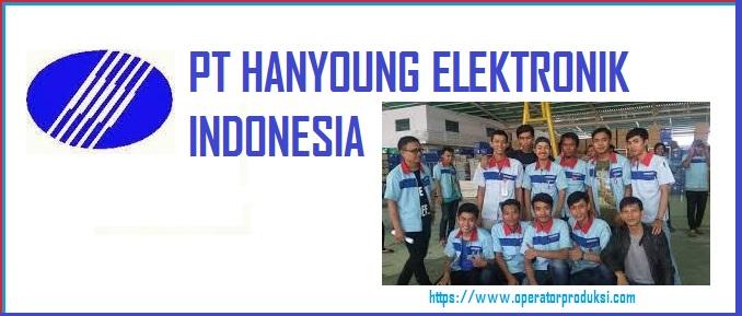 Lowongan PT Hanyoung Elektronik Indonesia (HEI) Posisi Operator Produksi