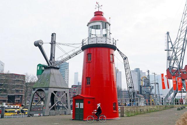 Estrutura do Museu Marítimo em Roterdã