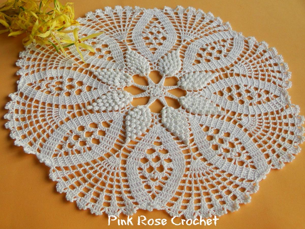 Pink Rose Crochet 10 01 16 17 01 16