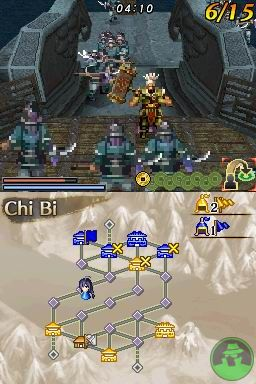 Dynasty Warriors DS: Fighter's Battle screenshot 3