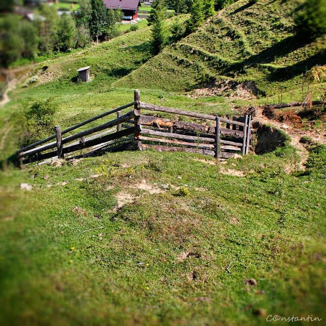 Sus în deal e o casã... şi acolo-i gardul meu... - blog FOTO-IDEEA