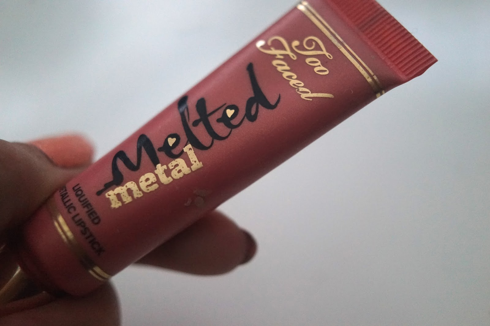 too faced metal lipstick
