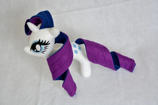 Rarity my little pony felt