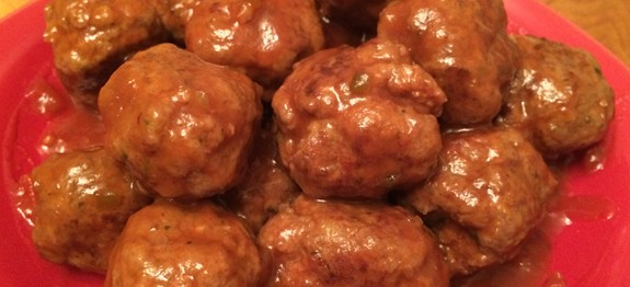 Easy Cocktail Meatballs Recipe