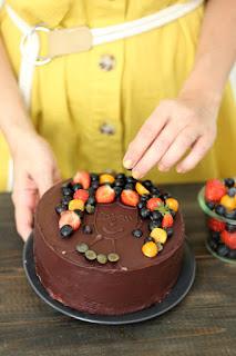 Вита шоколадова торта за рожден ден