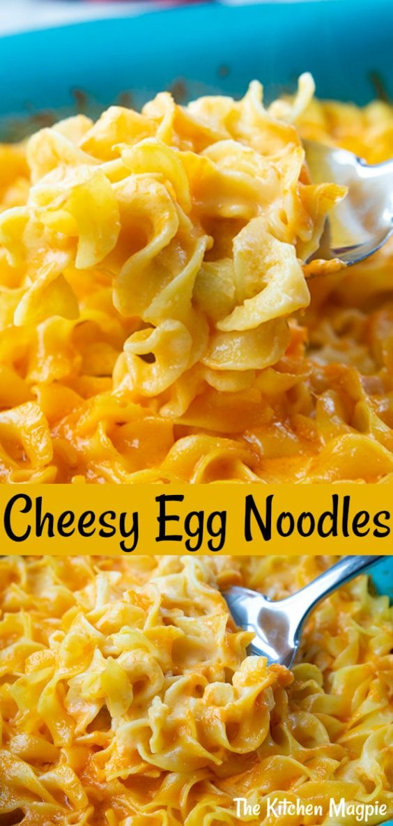 Cheesy Egg Noodles