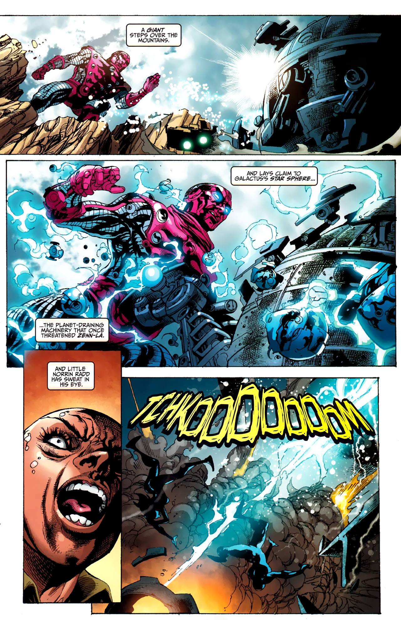Read online Silver Surfer (2011) comic -  Issue #2 - 22