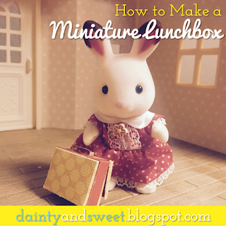 How to Make a Miniature Lunchbox | Dainty & Sweet