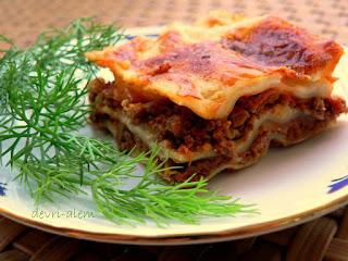 Ground Beef Lasagna (Kiymali Lazanya)