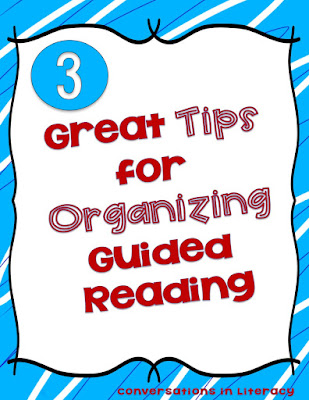 Tips for Organizing Guided Reading
