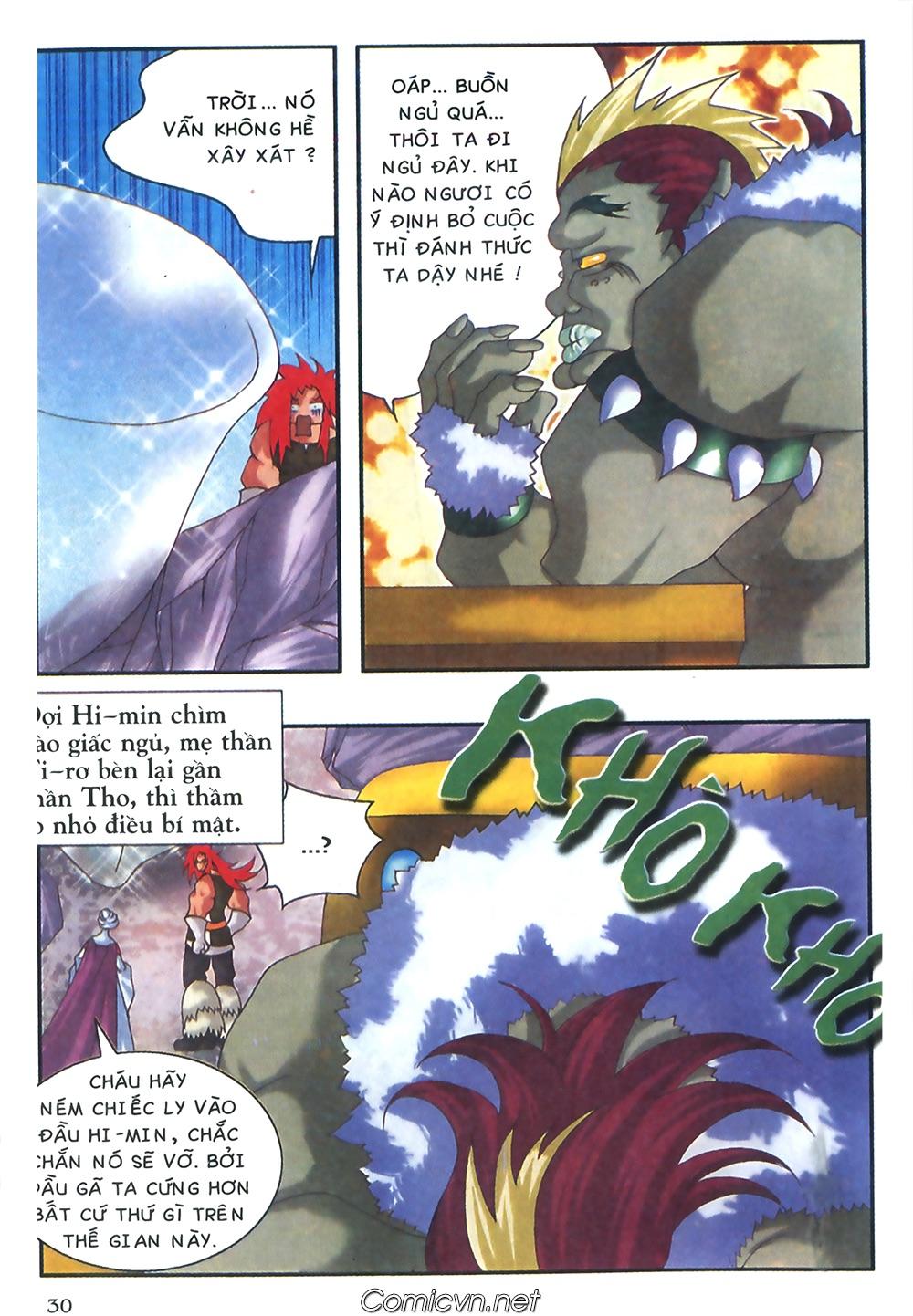 Thần thoại Bắc Âu - Chapter 37: Lão cha dượng xấu tính - Pic 31