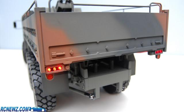 RC4WD Beast 2 6x6 nato camo paint