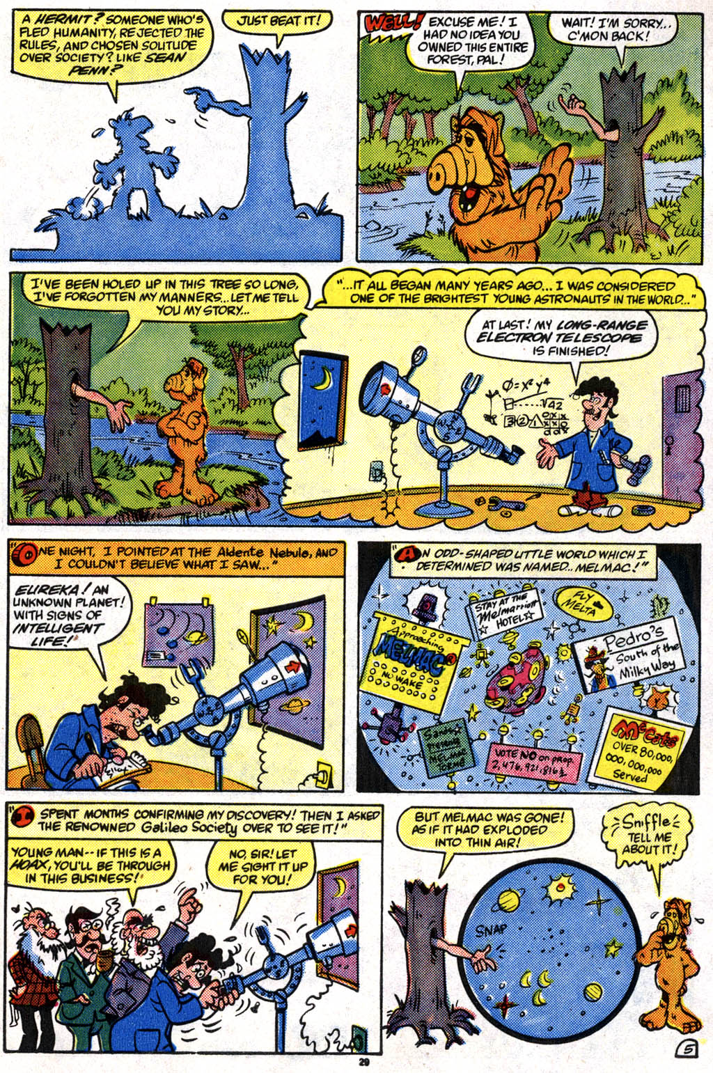 Read online ALF comic -  Issue #10 - 22