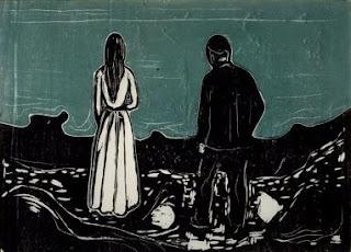 Эдвард Мунк. Два человека. Одиночество. 1899