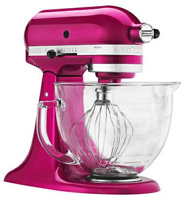 Win Kitchenaid Artisan Quart Stand Pink Mixer Love Kids Blog