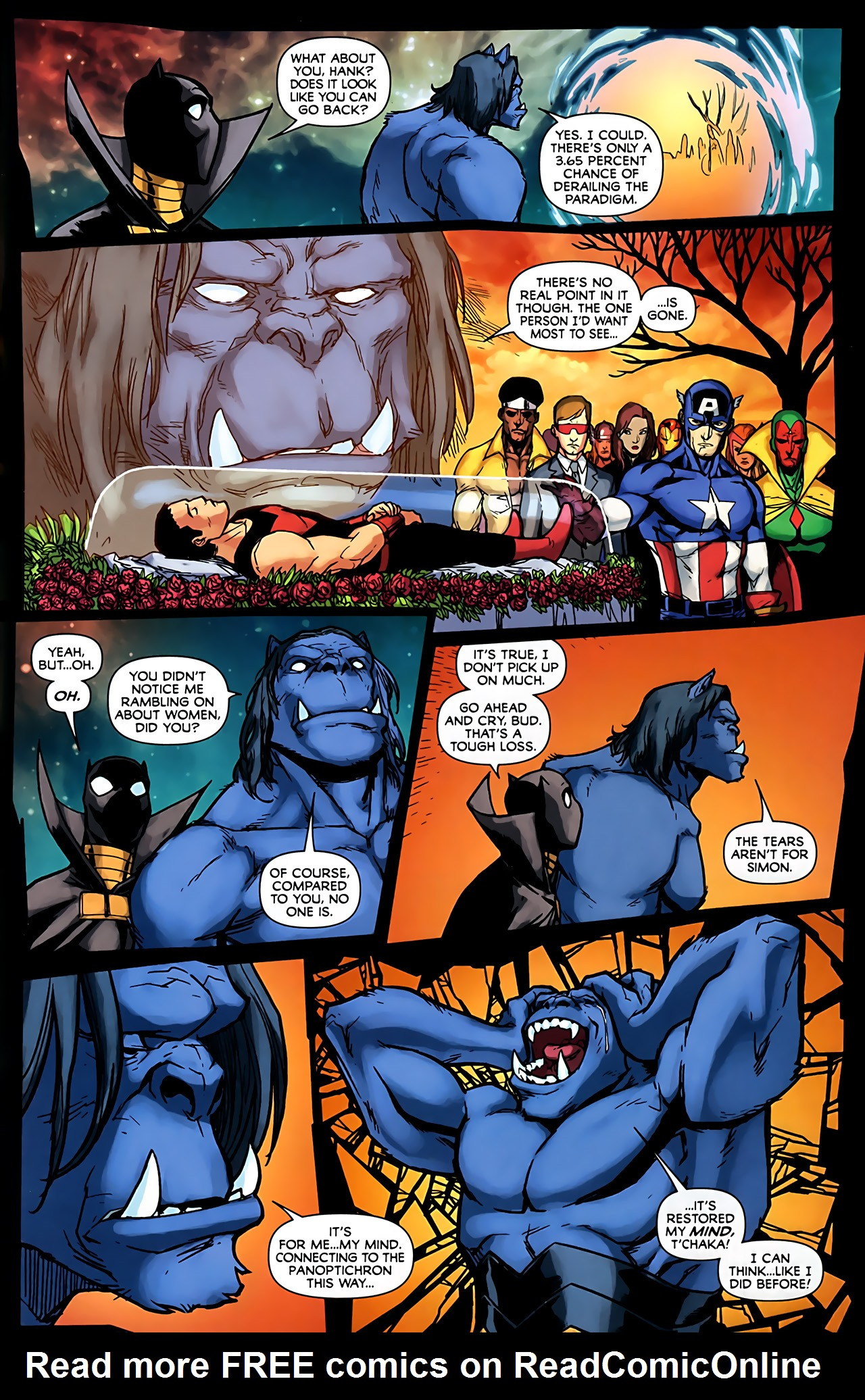 Read online Exiles (2009) comic -  Issue #6 - 35
