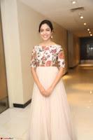 Ritu Varma smiling face Cream Anarkali dress at launch of OPPO New Selfie Camera F3 ~  Exclusive 052.JPG