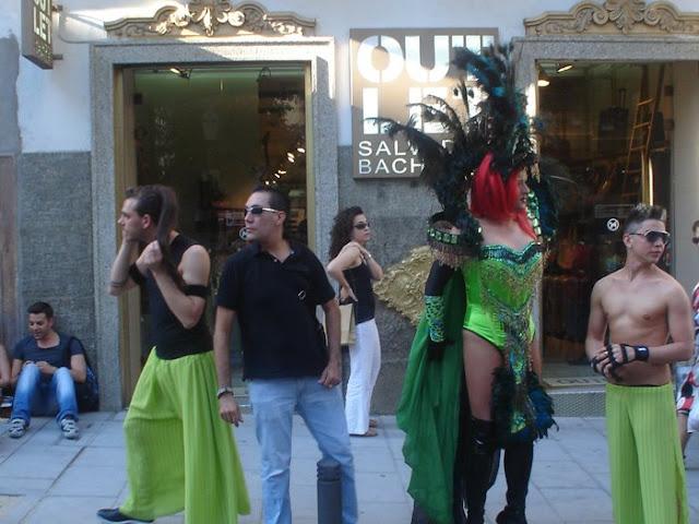 Fiestas del Orgullo gay. Madrid 2011