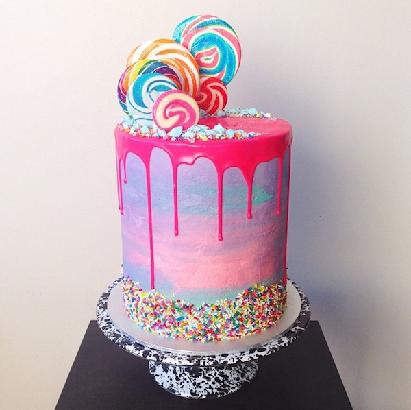 lollipop cake  - 20+ Colorful Yummy Cake You Want To Eat