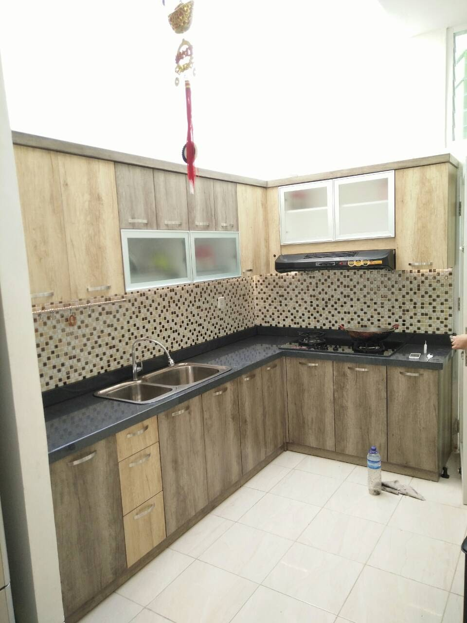 Aw3 Design Interior Design 3d Consultant L Shape Kitchen Set In