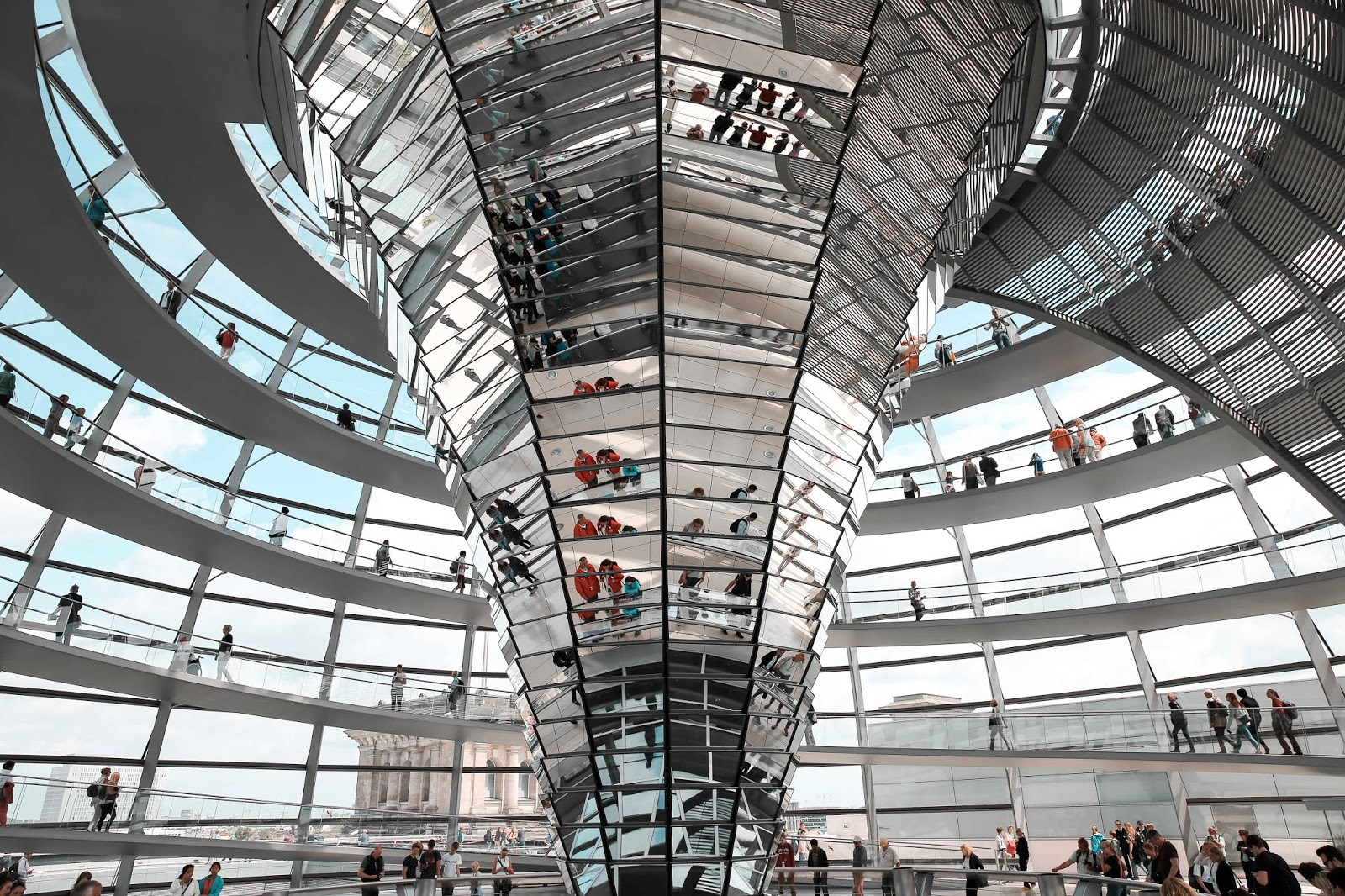 The Reichstag Building Dome
